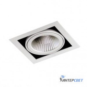 Светильник LDG801 LED Downlight 28° silver