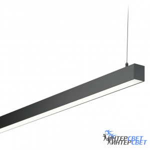 Линейный светодиодный светильник 70x55mm black