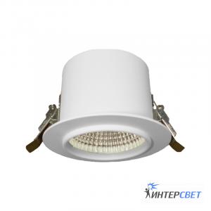 Встраиваемый светильник белый D01