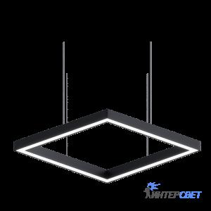 Светодиодный профильный светильник Line-4K Квадрат 40W 500mm